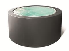- Overflow round hot tub MINIPOOL | Hot tub 5-seats - Kos by Zucchetti