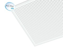 - Plasterboard ceiling tiles Gyptone® Activ'Air® Point 11 - Saint-Gobain Gyproc