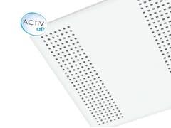 - Plasterboard ceiling tiles Gyptone® Activ'Air® Quattro 22 - Saint-Gobain Gyproc