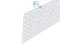 - Acoustic plasterboard ceiling tiles Rigitone™ Activ'Air® 8-15-20 SUPER - Saint-Gobain Gyproc