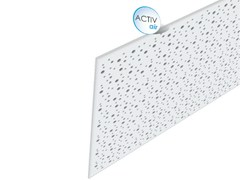 - Acoustic plasterboard ceiling tiles Rigitone™ Activ'Air® 8-15-20 - Saint-Gobain Gyproc