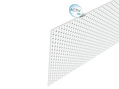 - Acoustic plasterboard ceiling tiles Rigitone™ Activ'Air® 12-20/66 - Saint-Gobain Gyproc