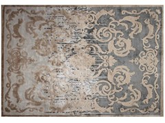 - Handmade rectangular custom silk rug CARDINAL SHADOW - EDITION BOUGAINVILLE