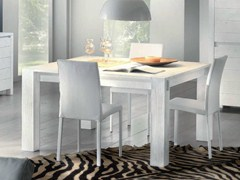 - Square solid wood table STORIA | Square table - Domus Arte