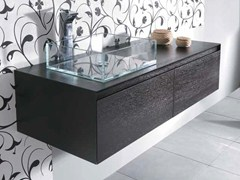 - Single washbasin countertop MINIMAL 30 - LA BOTTEGA DI MASTRO FIORE