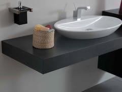 - Wooden washbasin countertop SYSTEM | Wooden washbasin countertop - LA BOTTEGA DI MASTRO FIORE