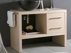 - Wooden vanity unit with drawers BENCH CLASSIC - LA BOTTEGA DI MASTRO FIORE