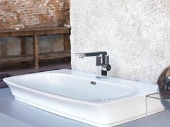 - Single handle washbasin mixer without waste LIBERA | Washbasin mixer - NEWFORM