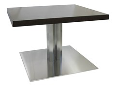 - Square stainless steel table SLIM-96-4-X - Vela Arredamenti
