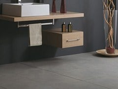 - Suspended wooden bathroom cabinet with drawers CSS-A - LA BOTTEGA DI MASTRO FIORE