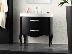 - Lacquered vanity unit with drawers ZEUS | Lacquered vanity unit - LA BOTTEGA DI MASTRO FIORE