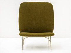 - Upholstered armchair KELLY H - Tacchini Italia Forniture