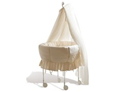 - Iron cradle with casters CARLOTTA - Cantori
