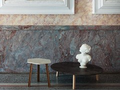 - Low round marble coffee table RULER   Coffee table - Tacchini Italia Forniture