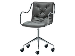 - Task chair with 5-Spoke base ZELIG | Task chair - Midj