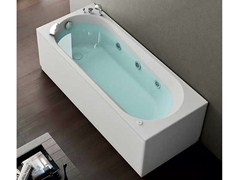 Whirlpool rectangular bathtub NOVA - HAFRO