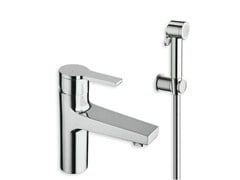 - Chrome-plated countertop washbasin mixer with spray DIARIO | Washbasin mixer with spray - CRISTINA Rubinetterie