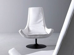 - Swivel fabric armchair with armrests BELLA - Esedra by Prospettive
