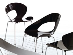 - Stackable fiberglass chair MINIMA | Chair - Esedra by Prospettive