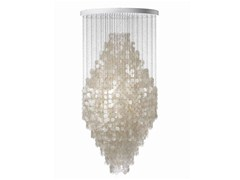 - Mother of pearl pendant lamp FUN 8DM - Verpan