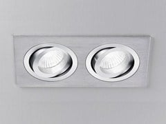 - Adjustable ceiling recessed aluminium spotlight XA2102 | Spotlight - PANZERI