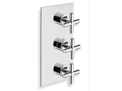 - Chrome-plated thermostatic shower mixer EXCLUSIVE | Chrome-plated thermostatic shower mixer - CRISTINA Rubinetterie