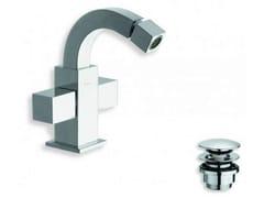- Chrome-plated countertop 1 hole bidet tap QUADRI | Countertop bidet tap - CRISTINA Rubinetterie