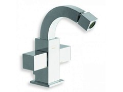 - Chrome-plated countertop 1 hole bidet tap QUADRI | Chrome-plated bidet tap - CRISTINA Rubinetterie