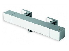 - Chrome-plated thermostatic shower mixer QUADRI | Thermostatic shower mixer - CRISTINA Rubinetterie