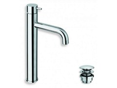- Chrome-plated countertop washbasin mixer TRICOLORE VERDE | Chrome-plated washbasin mixer - CRISTINA Rubinetterie