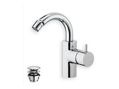 - Single handle bidet mixer TRICOLORE VERDE | Bidet mixer - CRISTINA Rubinetterie