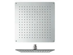 - Ceiling mounted chrome-plated overhead shower with anti-lime system SANDWICH | Overhead shower - CRISTINA Rubinetterie