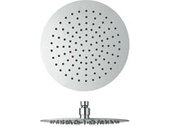 - Ceiling mounted chrome-plated overhead shower with anti-lime system SANDWICH   Chrome-plated overhead shower - CRISTINA Rubinetterie