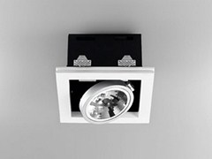 - Direct light adjustable built-in lamp for false ceiling XGQ1034-1 | Built-in lamp - PANZERI
