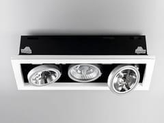 - Direct light adjustable built-in lamp for false ceiling XGQ1034-3 | Built-in lamp - PANZERI