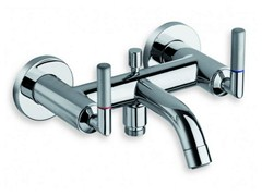 - Wall-mounted chrome-plated bathtub tap PICCHE ELITE | Chrome-plated bathtub tap - CRISTINA Rubinetterie