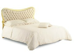 - Double bed with upholstered headboard HERMES | Double bed - Cantori
