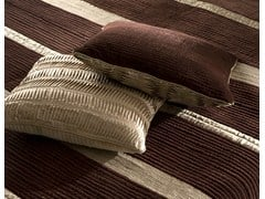 - Satin and Velvet Feather Cushion DAMASCO | Cushion - Cantori