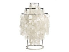 - Design mother of pearl table lamp FUN 1TM - Verpan