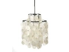 - Mother of pearl pendant lamp FUN 2DM - Verpan