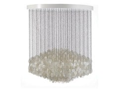 - Mother of pearl pendant lamp FUN 7DM - Verpan