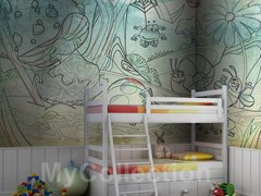 Kids wallpaper FANTASIA - MyCollection.it