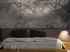 Wallpaper with floral pattern TATTOO - MyCollection.it