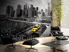 Panoramic wallpaper CITY LIFE - MyCollection.it
