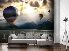 Panoramic wallpaper BALLONS - MyCollection.it