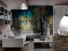 Panoramic writing wallpaper LIBERTY - MyCollection.it