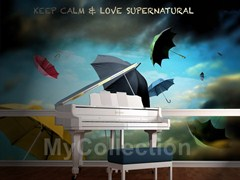 Panoramic writing wallpaper SUPERNATURAL - MyCollection.it