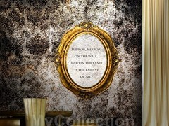 Motif writing wallpaper VANITY - MyCollection.it