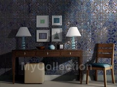 Motif stone-effect wallpaper COLOR MAJOLICA - MyCollection.it