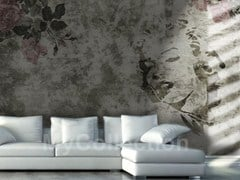 Wallpaper with floral pattern MARILYN - MyCollection.it